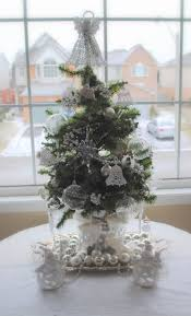 rustic maple white and sparkly tree canadiana christmas stop six