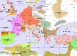 Religious Map Of Europe by Medieval Europe Science Religion Culture