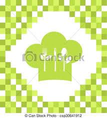 symbole cuisine symbole cuisine végétarien cuisine menu restaurant clipart