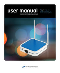 seowon intech wimax user manual