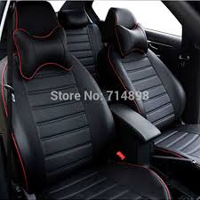 housse siege audi a4 carnong car seat cover pu leather proper fit for vw caddy maxi 7
