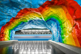 Beautiful Art Pictures by In Empty Metro Stations Photographer Finds Art Beauty Cnn Travel
