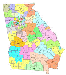 Georgia State Map by Democrats Make New Push To Address Gerrymandering In Georgia