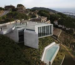 homes built into hillside hover houses 12 cliff clinging homes with a view urbanist
