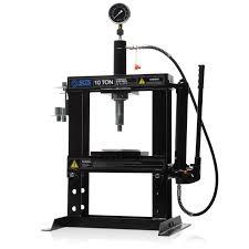 10 tonne bench mounted workshop hydraulic press
