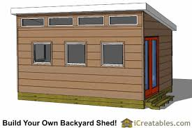 modern shed plans modern diy office u0026 studio shed designs