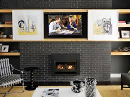 hgtv on how to blend a big screen tv into the decor hgtv