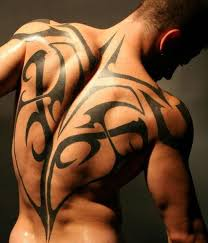 tribal tattoos for on back design pictures