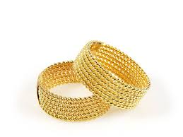 wedding gold rings vintage braided gold ring set wedding rings pictures