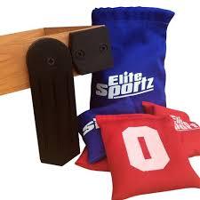 elite sportz bean bag toss game for kids junior basketball