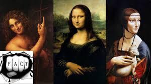 Popular Artwork 10 Most Famous Leonardo Da Vinci Artworks Youtube