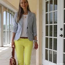 preppy for women over 50 video classic fashion over 40 50 preppy blue seersucker blazer