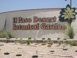 Botanical Gardens El Paso Mountain Trail Daily Photo Far West Wildlife Trail