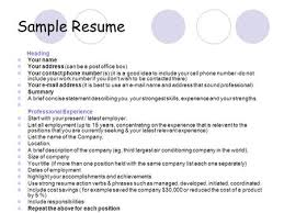 Best Resume Headers by How To Create Good Resume Resume Examples Ppt Video Online Download