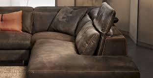 Gamma Leather Sofa by Modular Sofa Contemporary Leather 2 Seater Sound Gamma