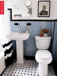 vintage bathrooms designs 31 retro black white bathroom floor tile ideas and pictures