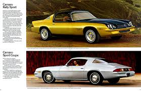 history of the chevrolet camaro 1979 camaro specs colors facts history and performance
