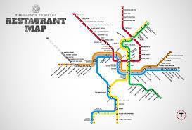 Dc Map Metro Metro Restaurant Map Washingtondc