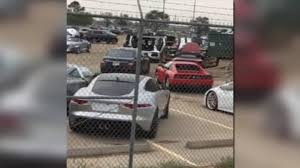 bentley houston video shows millions of dollars in exotic cars flooded by harvey