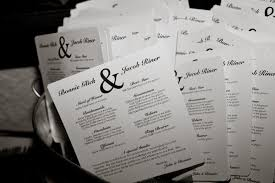 Templates For Wedding Programs Particular Put A Bird On It Wedding Program Fans To Keep Guests