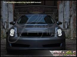 infiniti g35 interior oracle 06 07 infiniti g35 coupe led halo rings headlights bulbs