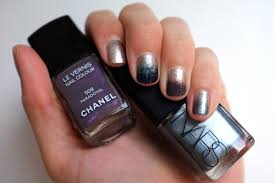 ombre nails tutorial painterly nails two tone manicure aw12