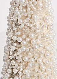 pearl vase fillers pearl christmas tree cone
