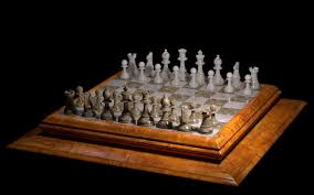 chess table marble chess table