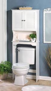 clever bathroom storage ideas storage and organization bathroom storage ideas freestanding over the toilet cabinet with bar