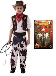 Cowboy Halloween Costume Toddler Boys Kids Cowboy Fancy Dress Costume Children Mas Party