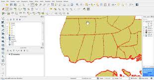 tutorial qgis bahasa indonesia memotong membelah memecah polygon peta vektor 2 qgis