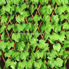 willow trellis with artificial leaf willow trellis with