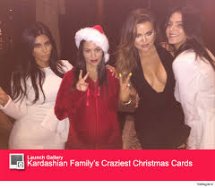 this might be the closest thing we get to a kardashian holiday