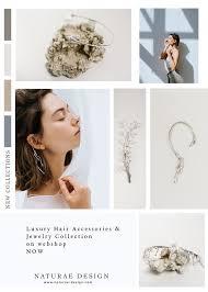 luxury hair accessories moodboard inspiration for luxury hair accessories and jewelry made