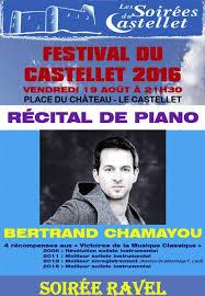 bertrand chamayou mariage recital de piano bertrand chamayou festival du castellet 2016