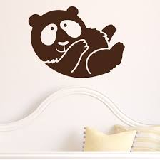 silhouette baby bear wall sticker stickers loversiq design your own baby nursery large size silhouette baby bear wall sticker stickers nursery sets nursery