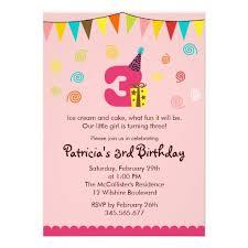 3rd birthday invitations dancemomsinfo com