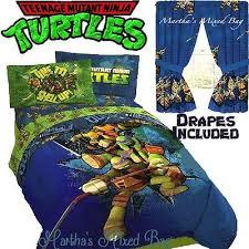 Ninja Turtle Comforter Set Boys Comforters Collection On Ebay