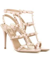 valentino stores valentino garavani rockstud leather sandals