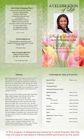 Samples Of Funeral Programs Ao Single Fold Programs Ao Harvest Letter Single Fold Funeral