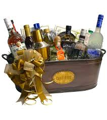 liquor gift baskets build a basket complete open bar cocktails gift basket bourbon