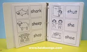 phonics teaching kids to read words with sh and th heidi songs