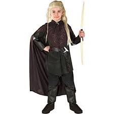 Amazon Halloween Costumes Kids Amazon Lord Rings Legolas Kids Costume Clothing