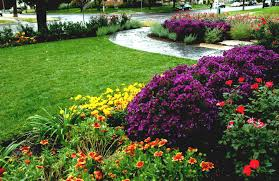 Design For Indoor Flowering Plants Ideas Garden Design Garden Design With Front Yard Flower Bed Designs