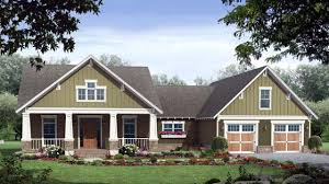 single story craftsman house plans craftsman style house new