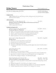 Biology Resume Template Molecular Biology Resume Eliolera Com