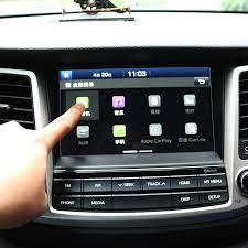 hyundai tucson navigation aliexpress com buy car styling gps navigation screen steel