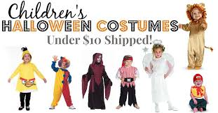 halloween costumes under 10 shipped