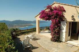 chambre d hote corse du sud bord de mer villa calme et détente vue mer panoramique à propriano