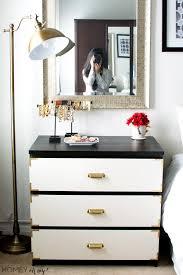 Malm Ikea Nightstand Caign Style Dresser Ikea Malm Makeover